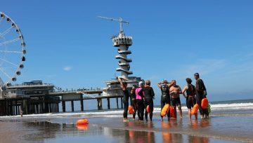 Zee zwemtrainingen een succes!